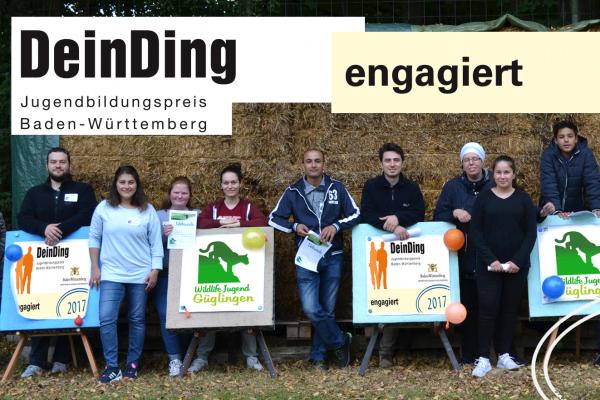 Jugendbildungspreis 2017 - Siegel engagiert
