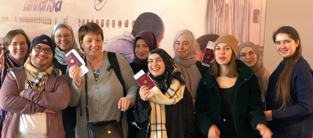 Teilnehmer*innen des Projekts auf JuIVLP Bildungsreise in die USA