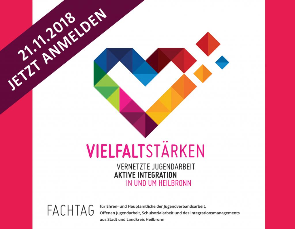 Vielfalt in und um Heilbronn stärken - Fachtag am 21.11.2018
