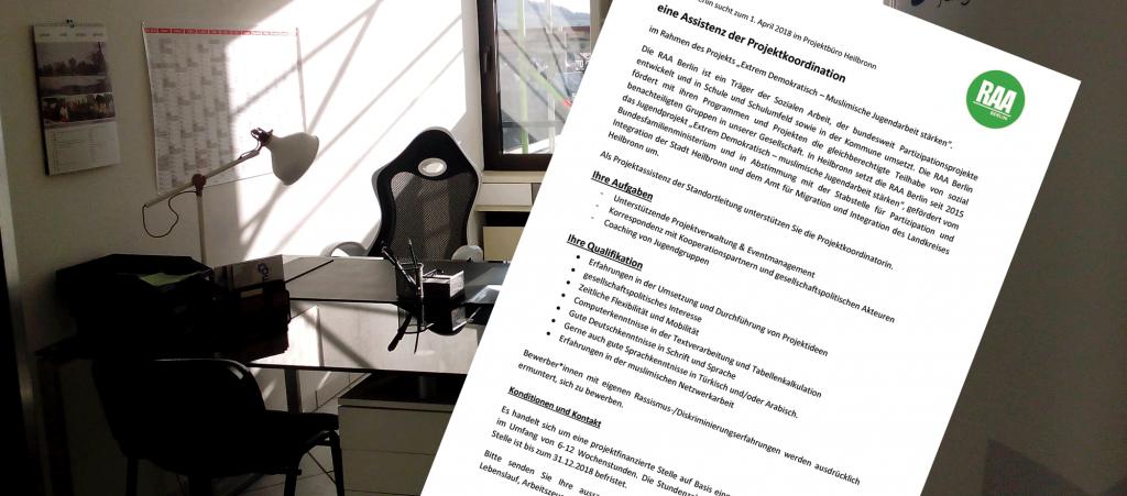 Geringfügige Beschäftigung in Heilbronn ab April 2018 - Projektarbeit, Projektmanagement