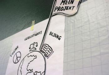 Jugendliche entwickeln eigene Projektideen
