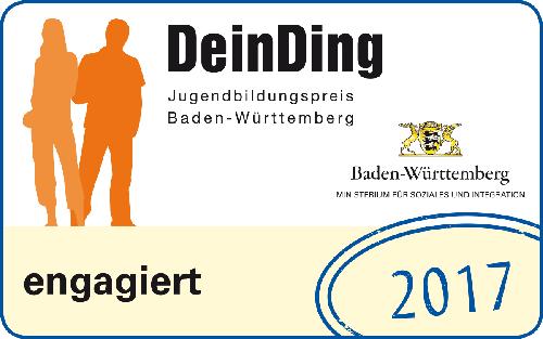 Engagiert Siegel des Jugendbildungspreis Baden-Württemberg