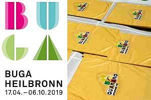 Quararo spielen auf der BUGA 2019 in Heilbronn