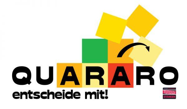 Quararo - das Spiel rund um Entscheidungen und Mehrheitsbildung
