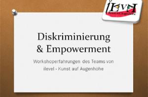 Diskriminierung und Empowerment