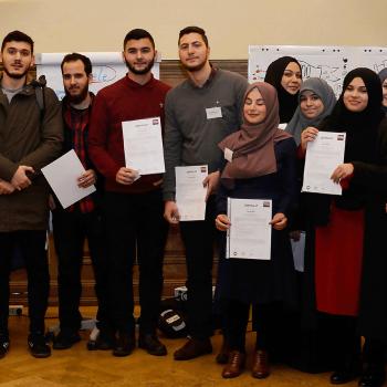 Jugendkonferenz zum Thema muslimische Jugendarbeit in Berlin von der RAA Berlin im November 2017