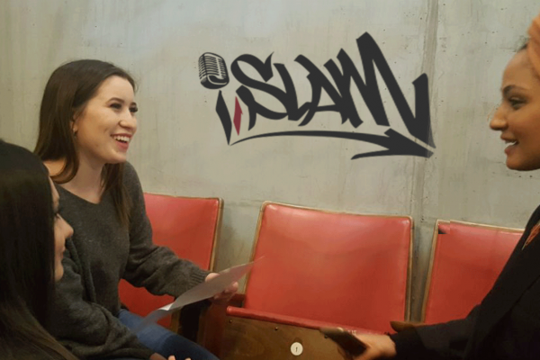 ilevel im Interview mit Anja Saleh von I'slam Stuttgart
