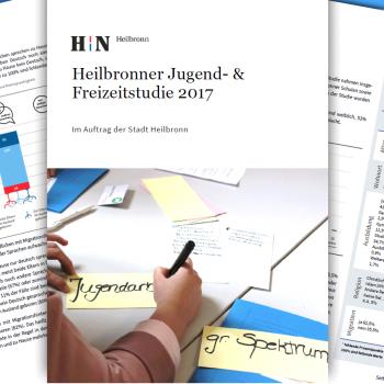 Jugend- und Freizeitstudie ist fertig. April 2018 Heilbronn