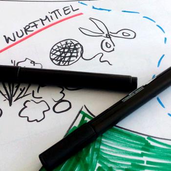 Wildlife Challenge Spiele werden entwickelt - Outdoor Teamspiele für Jugendliche in der Natur