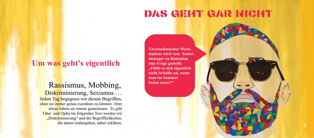 Wie kann Kunst sich ausdrücken gegen Diskriminierung und Rassismus? ilevel- Kunst auf Augenhöhe