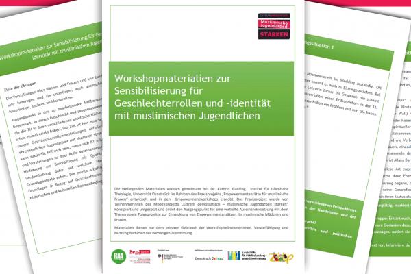 Workshopmaterialien zur Sensibilisierung für Geschlechterrollen und -identität mit muslimischen Jugendlichen
