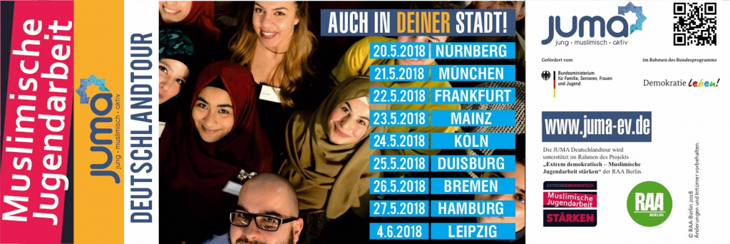 jung, muslimisch, aktiv - die Tour durch Deutschland im Ramadan 2018