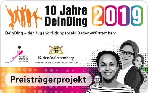 1. Platz bei Dein Ding 2019 Dejavu aus Heilbronn