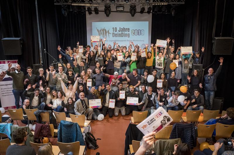 Alle Projekte vom Jugendbildungspreis Dein Ding 2019
