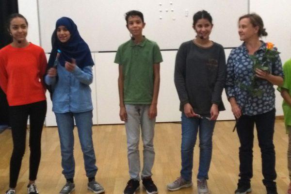 Die Jugendgruppe von Theaterprojekt Dejavu im Interview mit Julia Gerlach